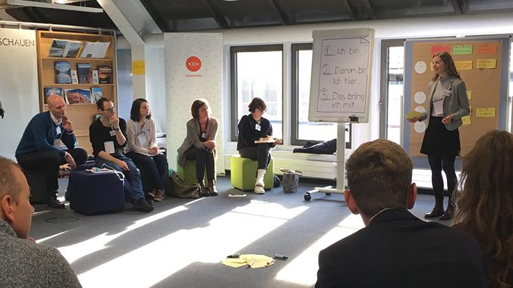 AUGENHÖHEcamp Karlsruhe #konzern 2019-01-31 @ InnovationsCampus ENBW